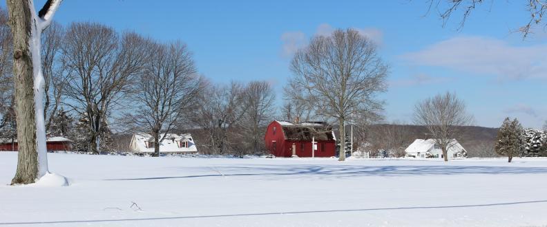 War Office in Winter
