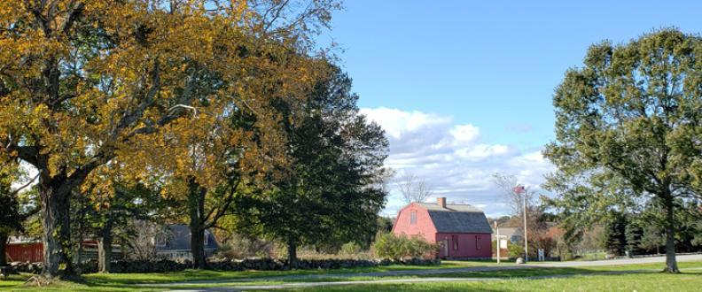 War Office and Early Fall Foliage
